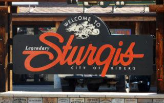 Sturgis City of Riders Sign