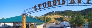 Sturgis RV Park Entrance