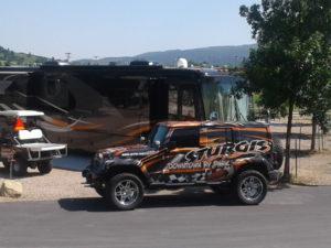 Sturgis RV Park Jeep & RV