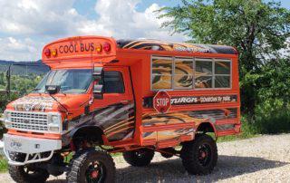 Sturgis RV Park Cool Bus
