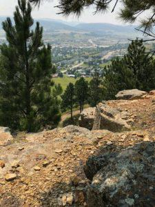 Hiking Above Park