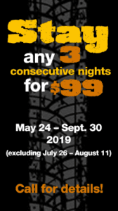 Stay 3 for $99 - Sturgis RV Park
