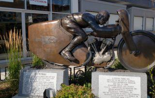 Sturgis Motorcycle Rally Statue - Joe Petrali