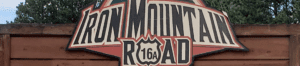 Iron Mountain Road Sign