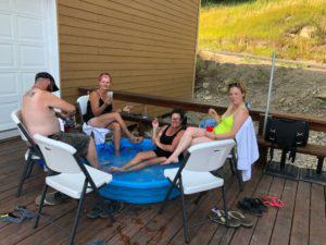 Relaxing at Sturgis RV Park