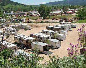 Overhead View of Sturgis RV Park